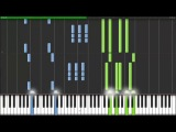 Alone - Naruto [Piano Tutorial] _ Kyle Landry (Synthesia) (HD-720p)